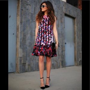 Peter Pilotto for Target Red Floral Dress